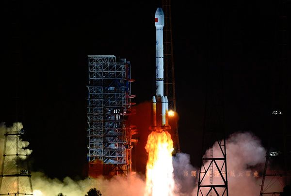 China launches first geostationary BeiDou-3 satellite