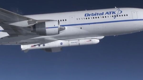 TECHNICAL GLITCH DELAYS LAUNCH OF NASA'S ICON SATELLITE ON PEGASUS ROCKET