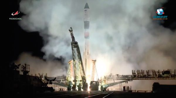 PROGRESS RESUPPLY CRAFT LIFTS OFF FROM KAZAKHSTAN, HEADS FOR SPACE STATION