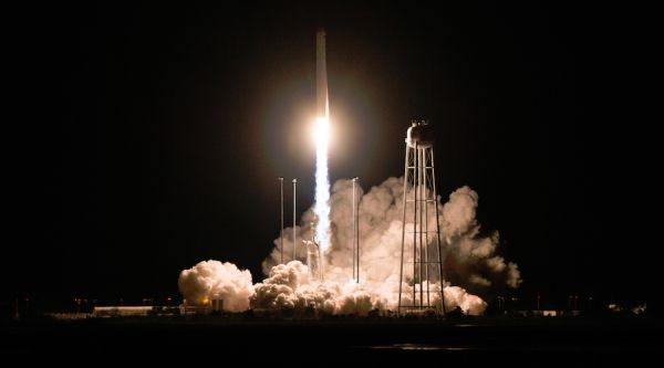 ANTARES ROCKET LAUNCHES CARGO RUN TO INTERNATIONAL SPACE STATION