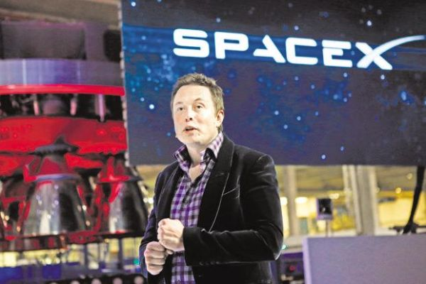 ELON MUSK'S SPACEX TO PUT 12,000 SATELLITES IN ORBIT