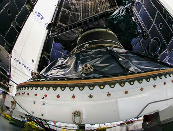 FIRST GPS III SATELLITE ENCAPSULATED FOR DEC. 18 SPACEX LAUNCH