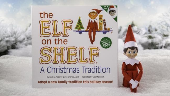 ASTRONAUTS TAKE ELF ON THE SHELF TO OUTER SPACE