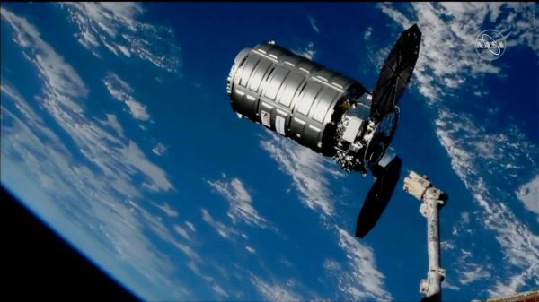 CYGNUS SUPPLY SHIP DEPARTS SPACE STATION FOR EXTENDED MISSION