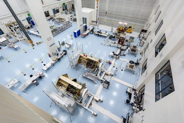 EUROPE'S MOST STATE-OF-THE-ART SATELLITE AND SPACE TECHNOLOGY CENTER BEGINS OPERATION