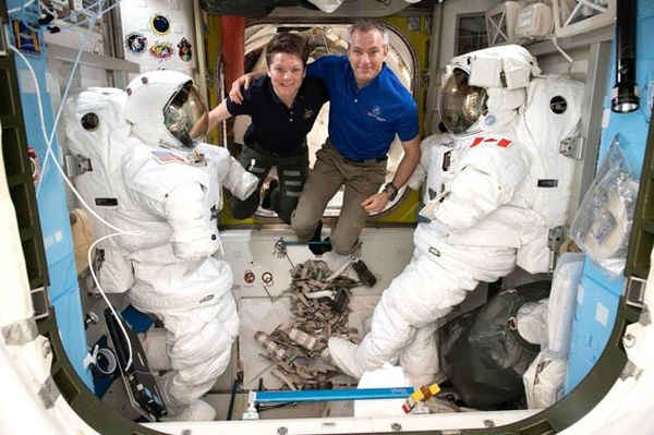 UPCOMING INTERNATIONAL SPACE STATION SPACEWALKS EXPECTED TO LAST 6 HOURS EACH