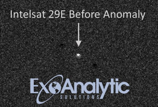 "NEW VIDEO OF INTELSAT 29E SATELLITE REVEALS DRAMATIC ""ANOMALY"""