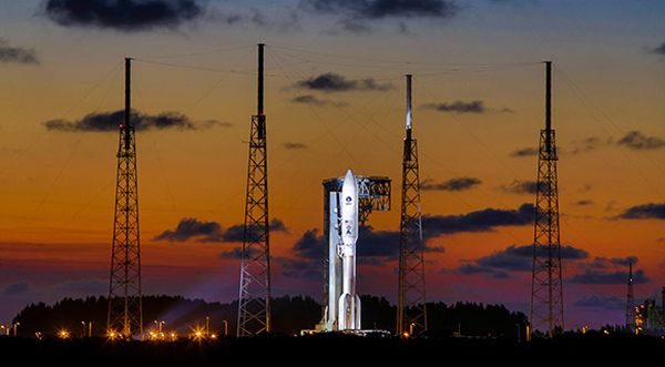 AEHF-5 SATELLITE ARRIVES AT CAPE CANAVERAL, PREPARES FOR LAUNCH ATOP AN ATLAS V IN JUNE