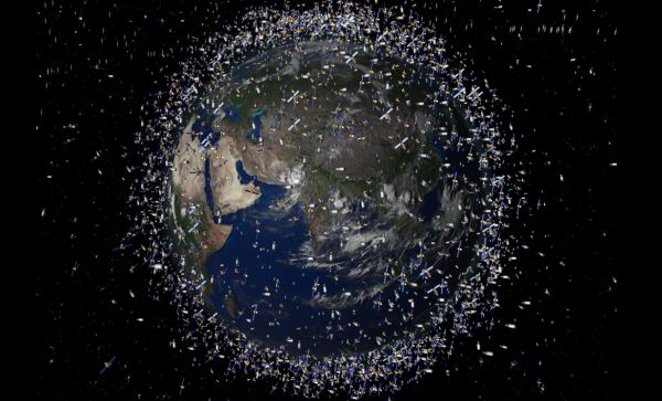 SPACE JUNK IS A HUGE PROBLEM—AND IT'S ONLY GETTING BIGGER