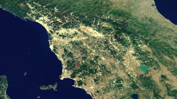 SATELLITE DATA CAN HELP MONITOR SHIFTING AND SINKING GROUNDS