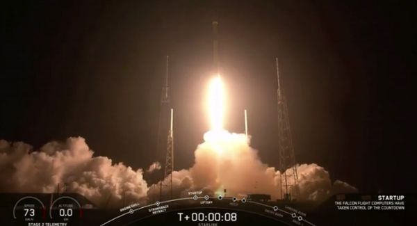 SpaceX launches Starlink: Waiting for deployment of 60 satellites in landmark mission