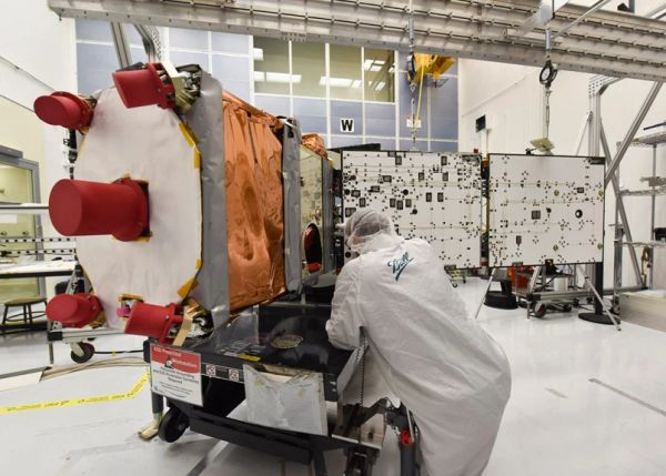 BOULDER'S BALL AEROSPACE SATELLITE SET FOR LAUNCH