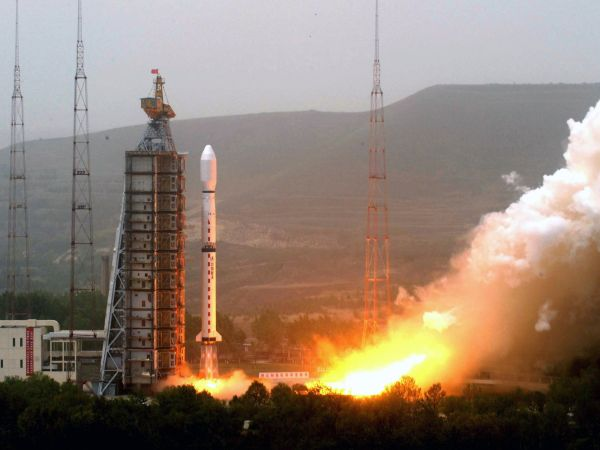 A TOP-SECRET CHINESE SPACE MISSION FAILING IN MID-FLIGHT — CHINA'S SECOND ROCKET LOSS OF THE YEAR