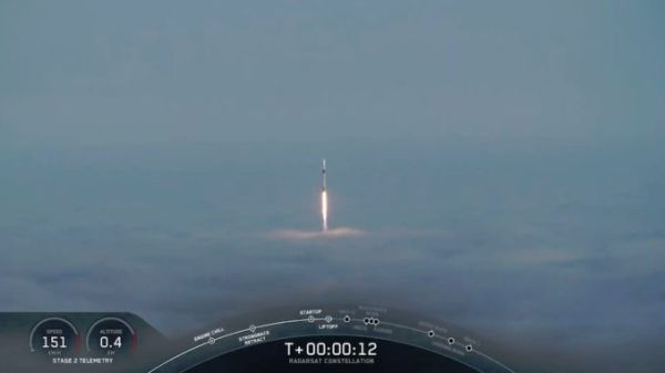 SPACEX SUCCESSFULLY LAUNCHED AND LANDED ITS FALCON 9 ROCKET ON THE CALIFORNIA COAST THIS MORNING