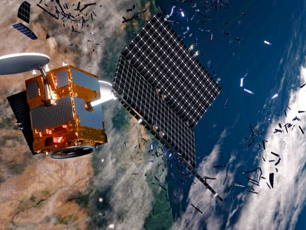 SPACE IS POLLUTED BY JUNK…AND IT'S GETTING WORSE