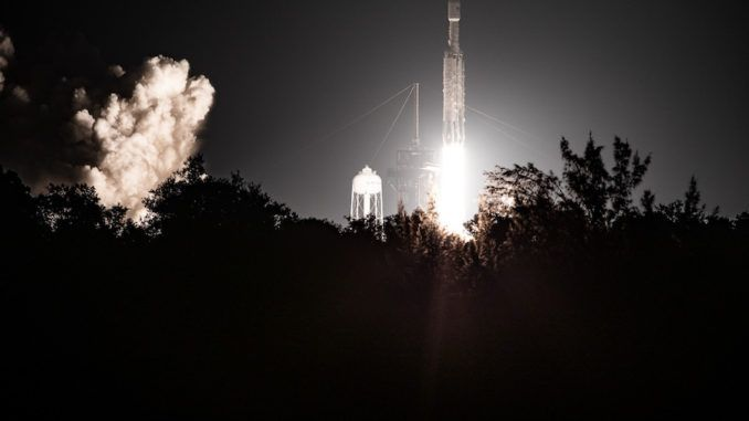 SPACEX FALCON HEAVY: ELON MUSK'S ROCKET COMPANY LAUNCHES ITS 'MOST DIFFICULT' MISSION TO DATE