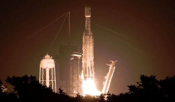 SATELLITE BUILT BY MICHIGAN TECH STUDENTS LAUNCHES INTO SPACE ABOARD FALCON HEAVY ROCKET