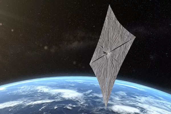 Now you can check in on Bill Nye's solar sail as it orbits Earth