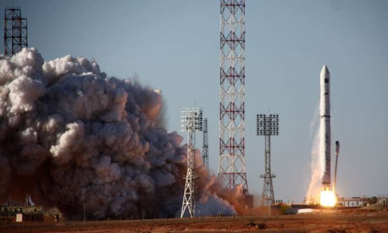 RUSSIA LAUNCHES INTERNATIONAL X-RAY ASTRONOMY MISSION