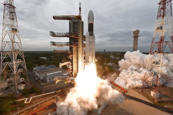 INDIA LAUNCHES ROBOTIC MISSION TO LAND ON THE MOON