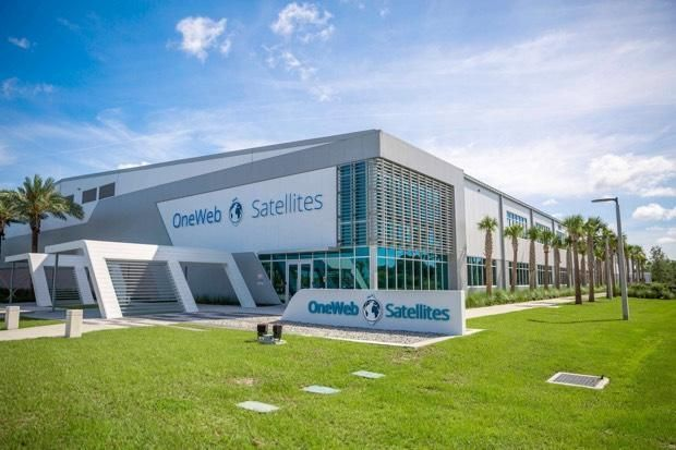 SPACE-BASED INTERNET THE FOCUS OF NEW ONEWEB FLORIDA SATELLITE FACTORY