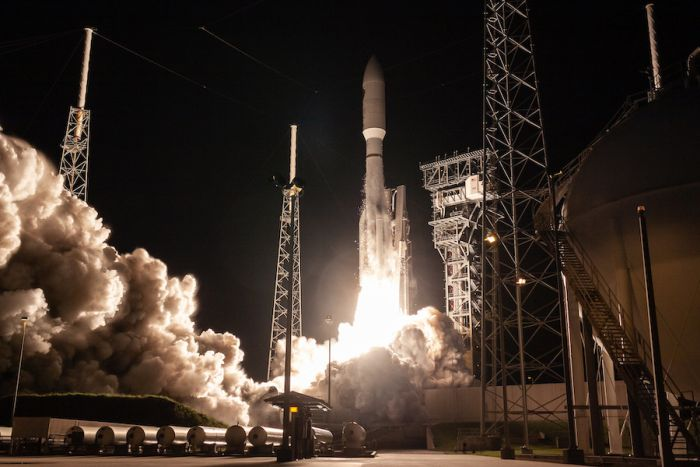 ATLAS 5 LAUNCH ADDS TO U.S. MILITARY'S SECURE COMMUNICATIONS SATELLITE NETWORK