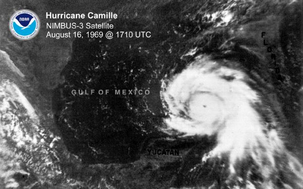 50 Years After Hurricane Camille, GOES Satellites Improve Forecasts