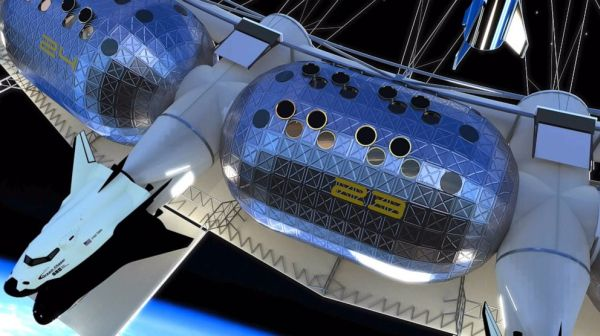 First commercial space hotel to have low-gravity basketball, rock climbing