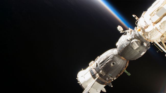 RUSSIA SAYS IT WILL KEEP SOURCE OF HOLE (AND AIR LEAK) ON SOYUZ SECRET— BUT NASA WANTS TO KNOW: REPORT