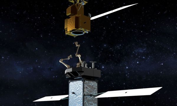 How NASA Will Grapple and Refuel a Satellite in Low Earth Orbit