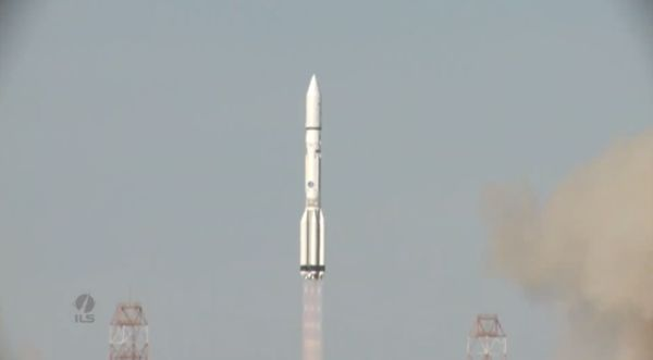NORTHROP GRUMMAN'S SATELLITE SERVICER MEV-1, EUTELSAT SATELLITE, LAUNCH ON ILS PROTON