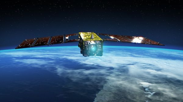 JAPANESE SATELLITE RE-ENTERS ATMOSPHERE AFTER EXPERIMENTS IN ULTRA-LOW ORBIT