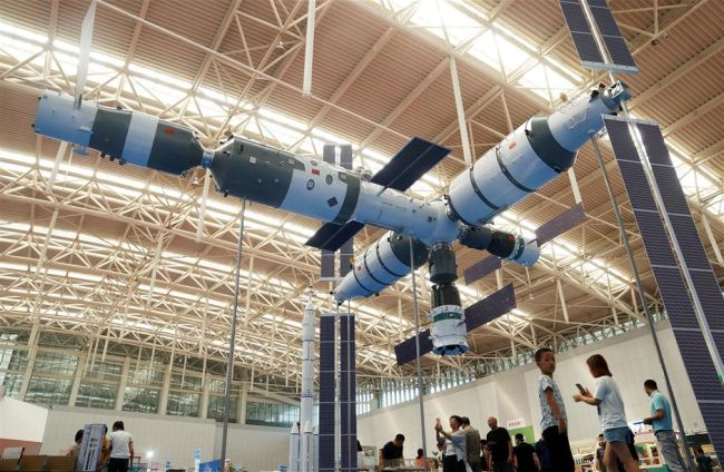 PREPARING FOR CHINA'S HOMEGROWN SPACE STATION