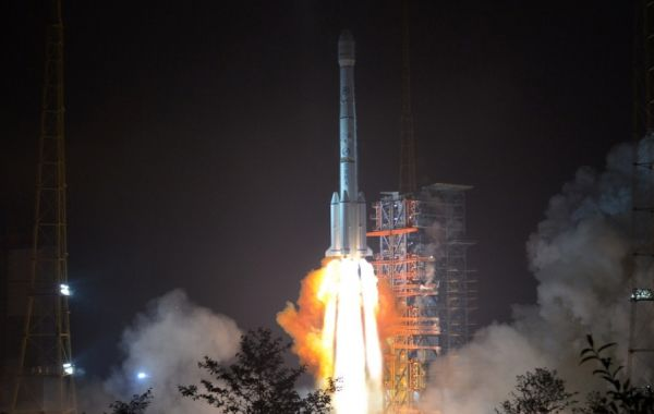 LONG MARCH 3B LAUNCHES TJSW-4