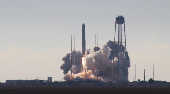 ANTARES LAUNCHES CYGNUS CARGO SPACECRAFT ON FIRST CRS-2 MISSION