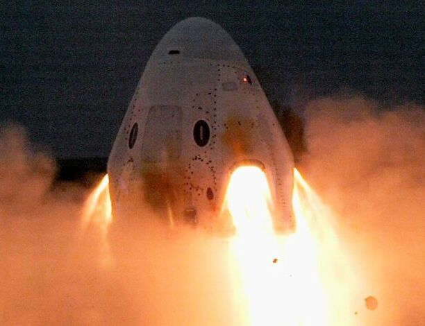 SpaceX executes ground-based test firing for Crew Dragon's launch escape system