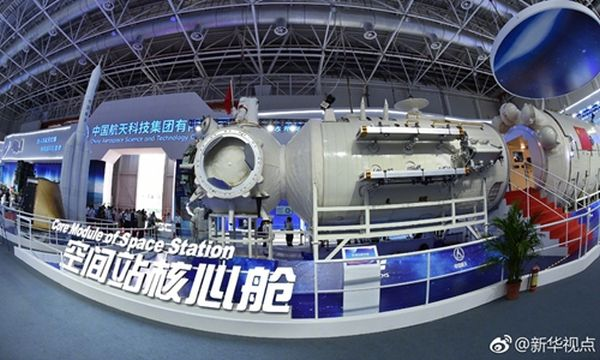 CHINA TO BUILD SPACE STATION ACCOMMODATING 3 ASTRONAUTS