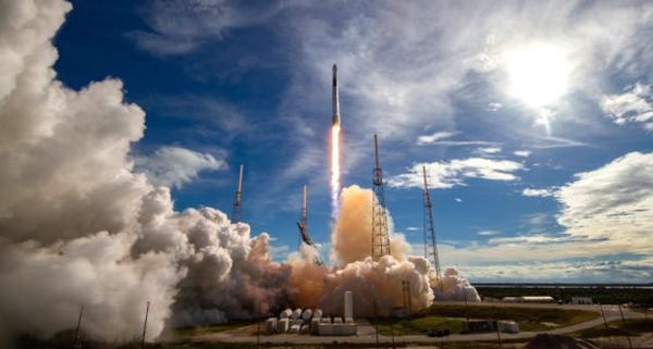 SPACEX SET TO LAUNCH FALCON 9 ROCKET TO SPACE STATION FROM CAPE CANAVERAL DEC. 4