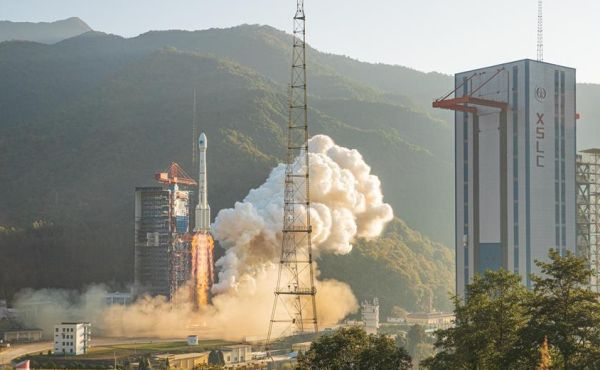 China launches two more Beidou navigation satellites