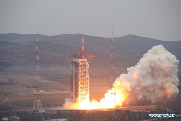 CHINA LAUNCHES RADAR OBSERVATION SATELLITE