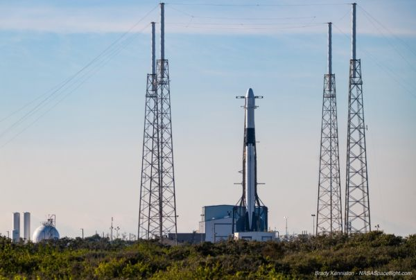 FALCON 9 SCRUBS LAUNCH OF CRS-19 DRAGON TO THE ISS