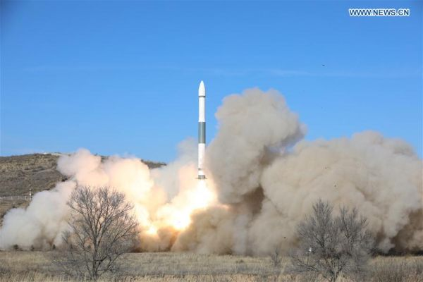 CHINA LAUNCHES TWO KUAIZHOU ROCKETS IN SIX HOURS