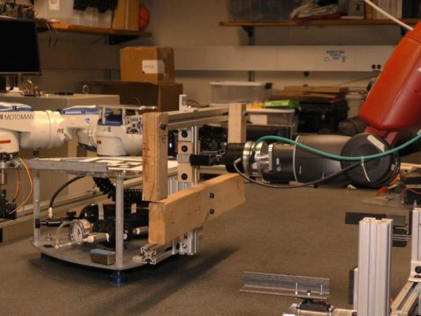 REFUELING SATELLITES IN SPACE WITH THE HELP OF A ROBOT