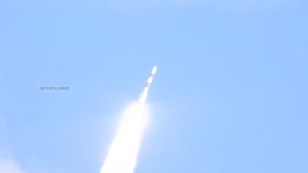 INDIAN PSLV LAUNCHES RISAT-2BR1 MILITARY SATELLITE