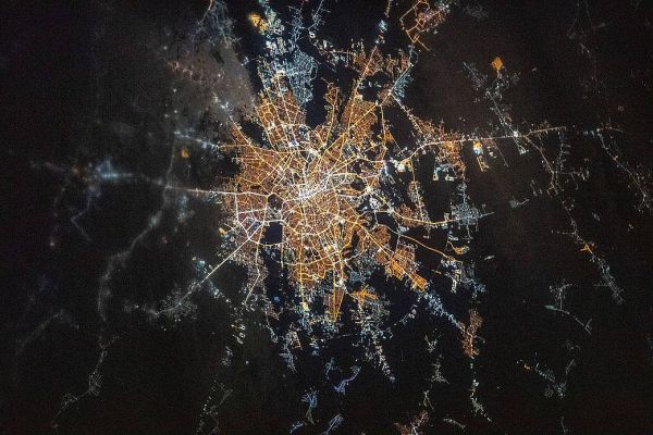 PHOTO OF THE DAY: BRIGHTLY-LIT BUCHAREST PHOTOGRAPHED AT NIGHT FROM THE INTERNATIONAL SPACE STATION