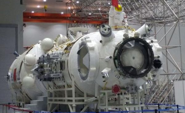 SPACE STATION PROTOTYPES SHIPPED TO LAUNCH CENTER