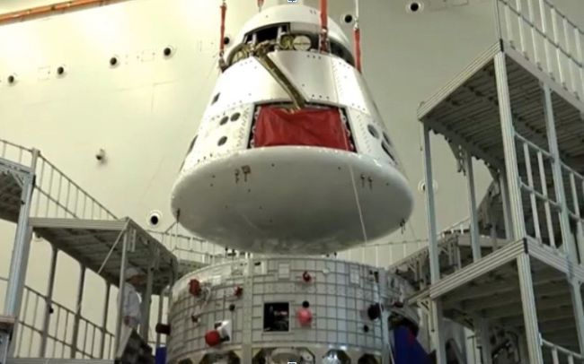 CHINA READIES ITS NEW DEEP-SPACE CREW CAPSULE FOR 1ST TEST FLIGHT