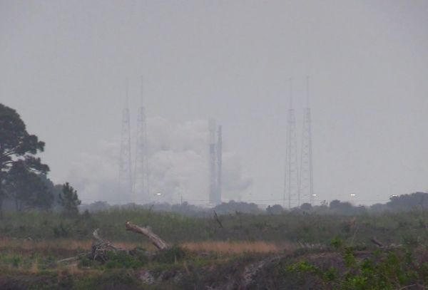 SPACEX TEST-FIRES FALCON 9 ROCKET; STARLINK LAUNCH DELAYED TO MONDAY