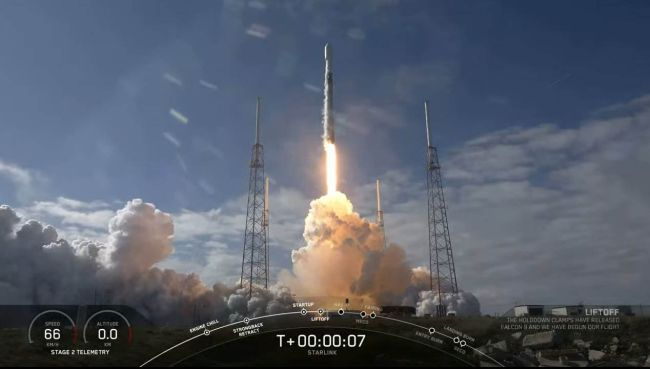 SPACEX LAUNCHES 60 STARLINK SATELLITES FOR NEW MEGACONSTELLATION, MISSES ROCKET LANDING