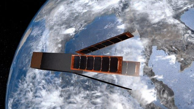 NEW SATELLITE MADE FROM CORK COULD HELP SMALLER SPACECRAFT RE-ENTER EARTH'S ATMOSPHERE INTACT BY DIRECTING HEAT TOWARD PARTS OF THE HULL DESIGNED TO BURN UP AND FLAKE AWAY